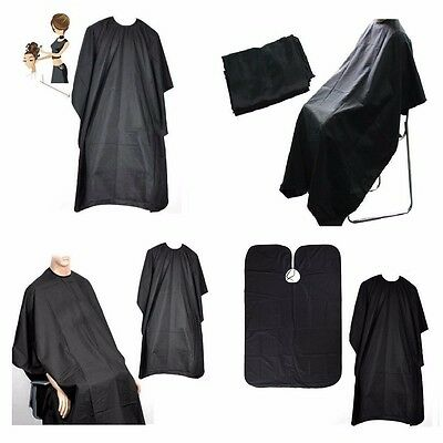 10 Black Hairdressing Hair Cutting Cape Barber Hairdresser Salon Equipment Gown