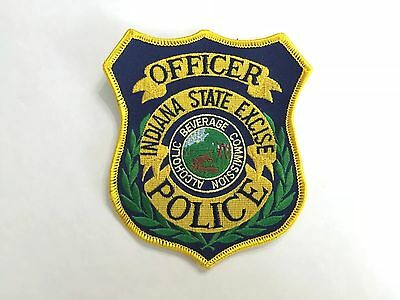 Indiana State Police Officer Alcoholic Beverage Commission Abc Excise Tax Patch