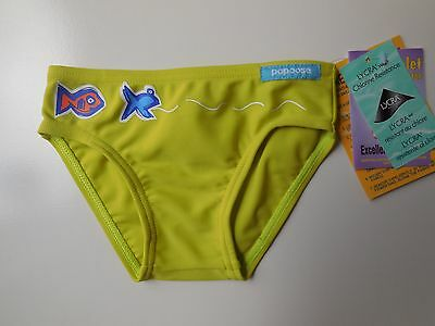 Baby Boy Bathers Swimmers Slim Fit Size 0 Fits 6-12M Upf 50+ *new