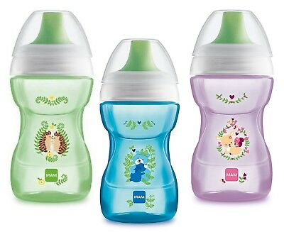 Mam Baby 270ml Learn to Drink Cup (Colour May Very)