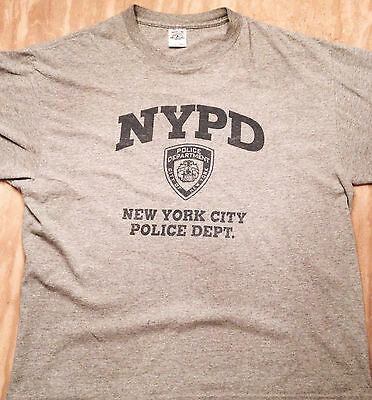 NYPD New York City Police Department VINTAGE Shirt