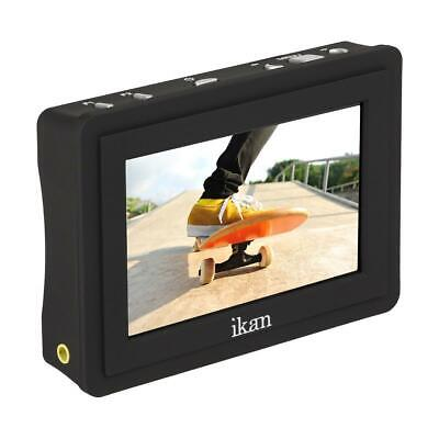 "iKan VL35 3.5"" 4K HDMI On-Camera LCD Monitor with Canon LP-E6 Battery Plate"