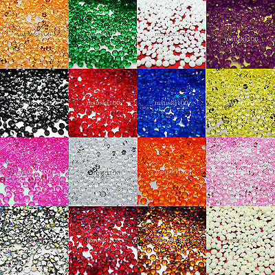 Diamond Confetti 4,5mm Top Table Scatter Wedding Party Sparkly Crystal Bead Gems