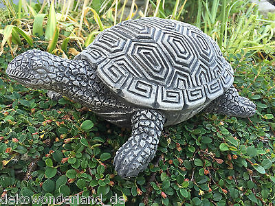 Stone figure Garden figure Pond Figure Sculpture Decor Turtle L 30cm 5,3 kg new