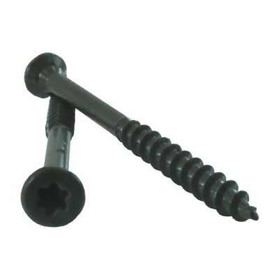 "3-1/2"" Epoxy Coated Deck Screws (Case of 1,000) - T25 Drive"