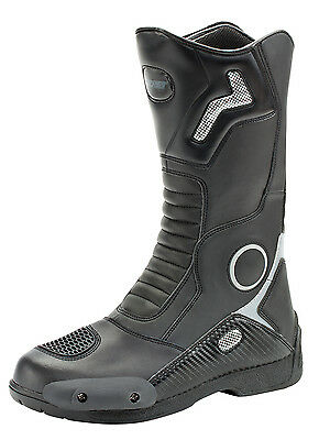 Joe Rocket Ballistic Touring Mens Leather Motorcycle Riding Boots