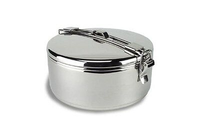 MSR Alpine Stowaway 1.6L Pot Stainless Steel Open Fire Cooking Camping Biker
