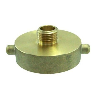 Brass Hydrant to Garden Hose Adapter
