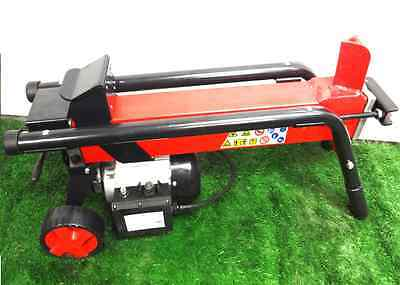 Top Quality 6 Ton Electric Hydraulic Log Splitter Heavy Duty Wood Timber Cutter