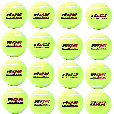 50x AQS Tennis Balls Bright Green For Pets Puppy Play Dog Toys Bouncing Ball New