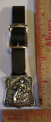 Vintage motorcycle race key/watch fob old collectible racer races memorabilia