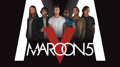 4 Electronic Ticket for Maroon 5 Concert in Quebec City 2017