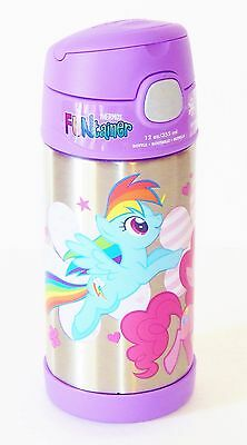 MY LITTLE PONY RAINBOW Thermos® FUNtainer Stainless Steel Insulated 12 oz Bottle