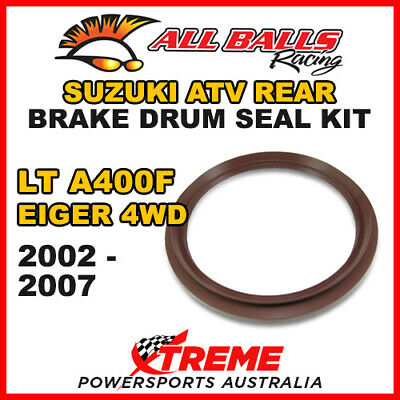 30-15801 Suzuki Atv Lta 400F Eiger 4Wd 2002-2007 Rear Brake Drum Seal Kit
