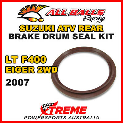 30-15801 Suzuki Atv Ltf 400 Eiger 2Wd 2007 Rear Brake Drum Seal Kit