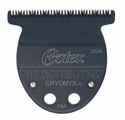 "Oster Taler T-Blade Trimmer Black Replacement Blade 1/125"" (0.2mm) Cryonyx NEW"