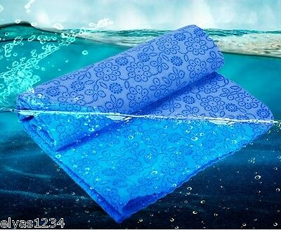 Swimming/Diving Hydrophilic Shammy Towel, New Generation, Microfibre Swim Towel