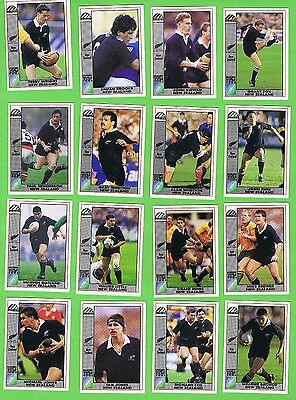 1991  New Zealand  Rugby Union World Cup Cards