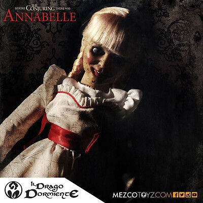 Mezco -Annabelle Doll - The Conjuring Prop replica