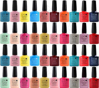 CND Shellac Power Polish - Original Esmalte de uñas Colors, Top, Base 7,3ml ES