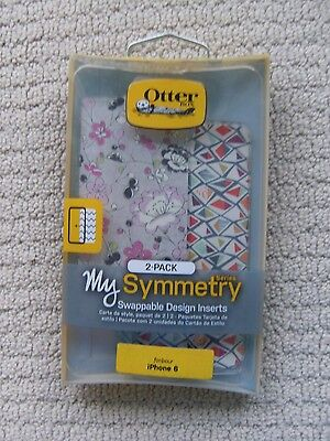 OtterBox My Symmetry Design Inserts 2 Pack for Apple iPhone 6 6S Symmetry Cases