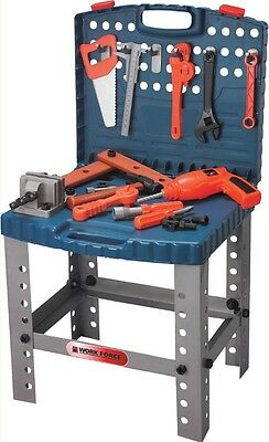 Kids Builders Tool Kit Childrens Play Set Tools work Bench construct Drill Toys