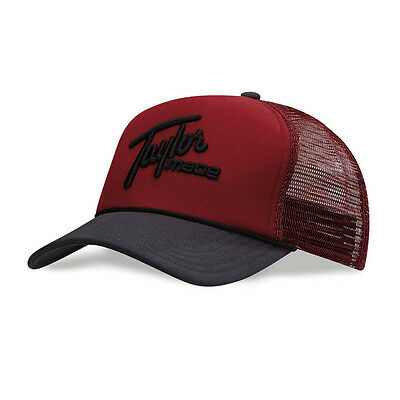 NEW TaylorMade 1979 Trucker Rope Red/Black Adjustable Hat/Cap