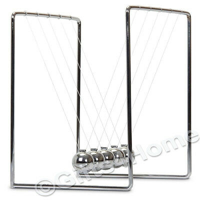 Newtons Cradle Toy Executive Desktop Gift Kinetic Balance Balls Physics Science