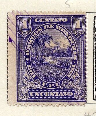Honduras 1911 Early Issue Fine Used 1c. 090666