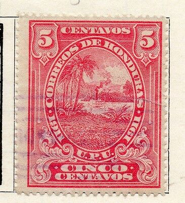 Honduras 1911 Early Issue Fine Used 5c. 090667