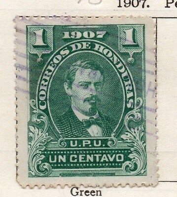 Honduras 1907 Early Issue Fine Used 1c. 090673