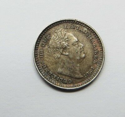 1835 William 1V Silver 1 1/2 Pence