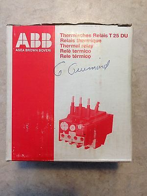 ABB Thermal Relay T25 DU 0.63