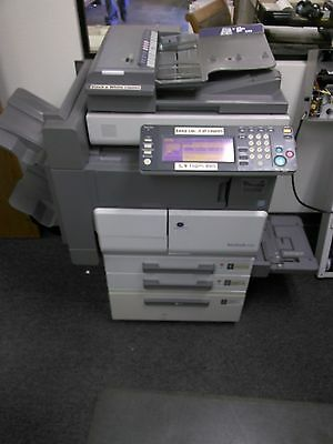 Konica Minolta Bizhub 420 Copier Printer Scanner Fax LOW use !