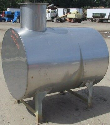 "Stainless Tank 42"" Diameter 57-1/2"" Length 2455 WVS"