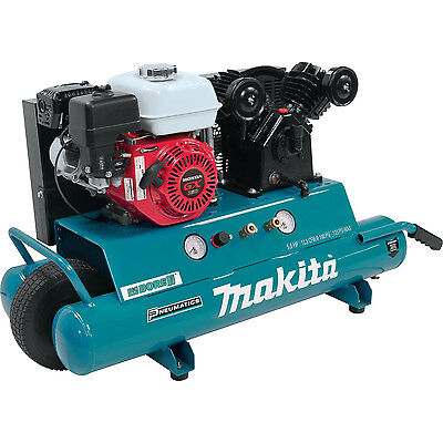 5.5 HP 10 Gallon Oil-Lube Gas Air Compressor Makita MAC5501G New