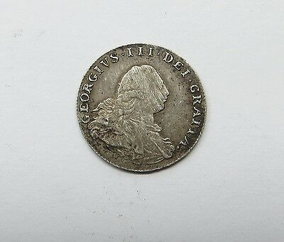 1800 George 111 Silver Maundy 2 Pence