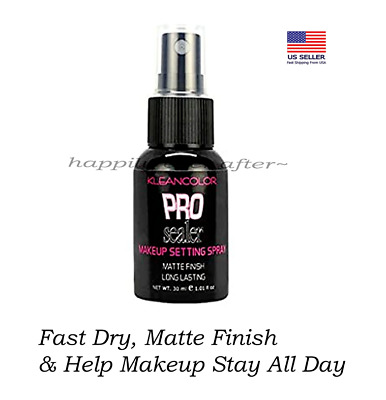 Makeup Setting Spray-Long Lasting, MATTE FINISH, No Melting *Kleancolor