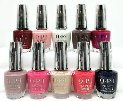 OPI Infinite Shine Air Dry Nail Lacquer - CLASSIC COLOR 0.5oz - Pick Your Color
