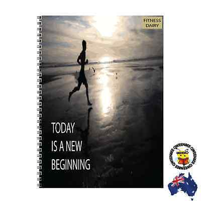 Gym Journal Workout Weight Lifting Fitness Log Diary Tracker Personal Trainer c6
