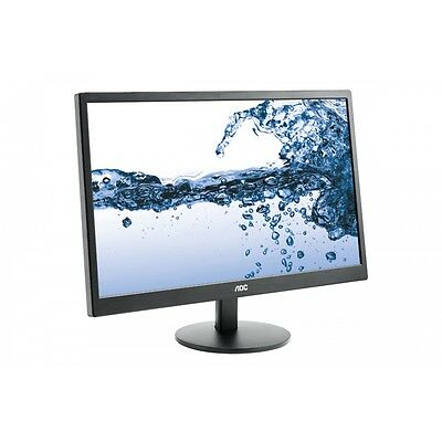 "AOC 21.5"" 5ms Full HD Narrow Bezel Monitor DVI/VGA,Tilt,VESA 100 E2270SWDN Gift"