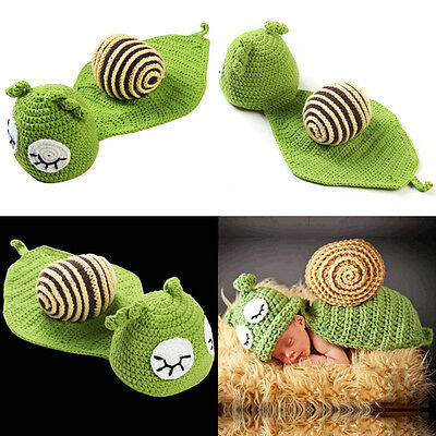 Snail Newborn baby Child Infant Outfit Fancy Dress Costume Halloween Animal Kids