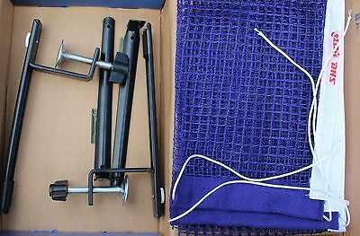 DHS Table Tennis Posts Clamp & Net Set, P305, New, OZ Seller