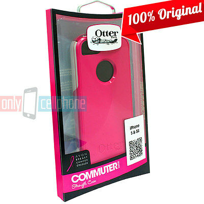 NEW Authentic Otterbox Commuter Pink Dual Layer Case Cover for iPhone SE 5S 5