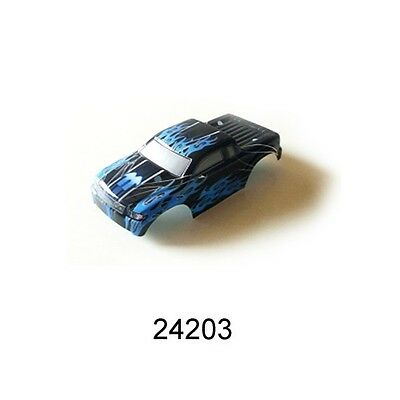 Redcat Racing Truck Body- Black+Blue for Sumo RC  Part 24203