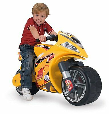 Injusa Winner Foot to Floor Child's Ride-on Toy Motorbike Wide Stable Wheels