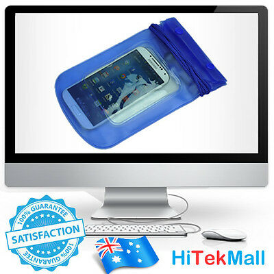 AU Waterproof Dry Bag Pouch Case Protector For iPod Cell iPhone MP3 Wallet Phone