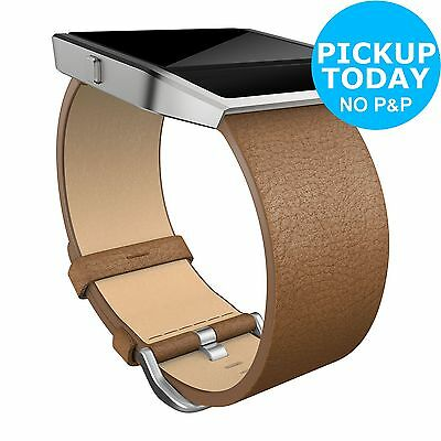 Fitbit Blaze Camel Leather Band - Large. From the Official Argos Shop on ebay