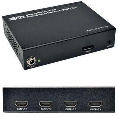 Tripp Lite 4-port Displayport 1.2 To Hdmi Multi-stream Transport Hub 4kx2k -