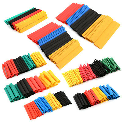 328pcs Polyolefin 2:1 Halogen-Free Heat Shrink Tube 8 Sizes Assorted Pack RC214